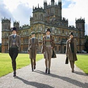 DOWNTON ABBEY TREND // Fall 2013