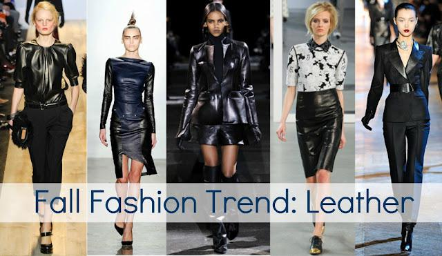 Fall Trends - Leather - paperblog.com