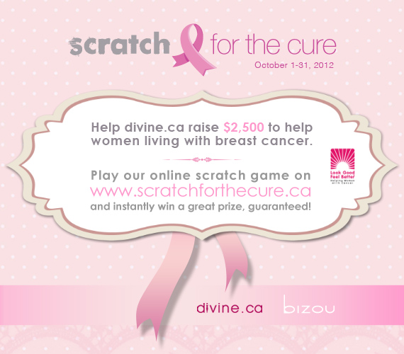 Scratch for the cure - divine.ca