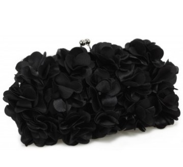 Flower evening bag - Bizou